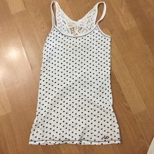 Hollister tank top lace